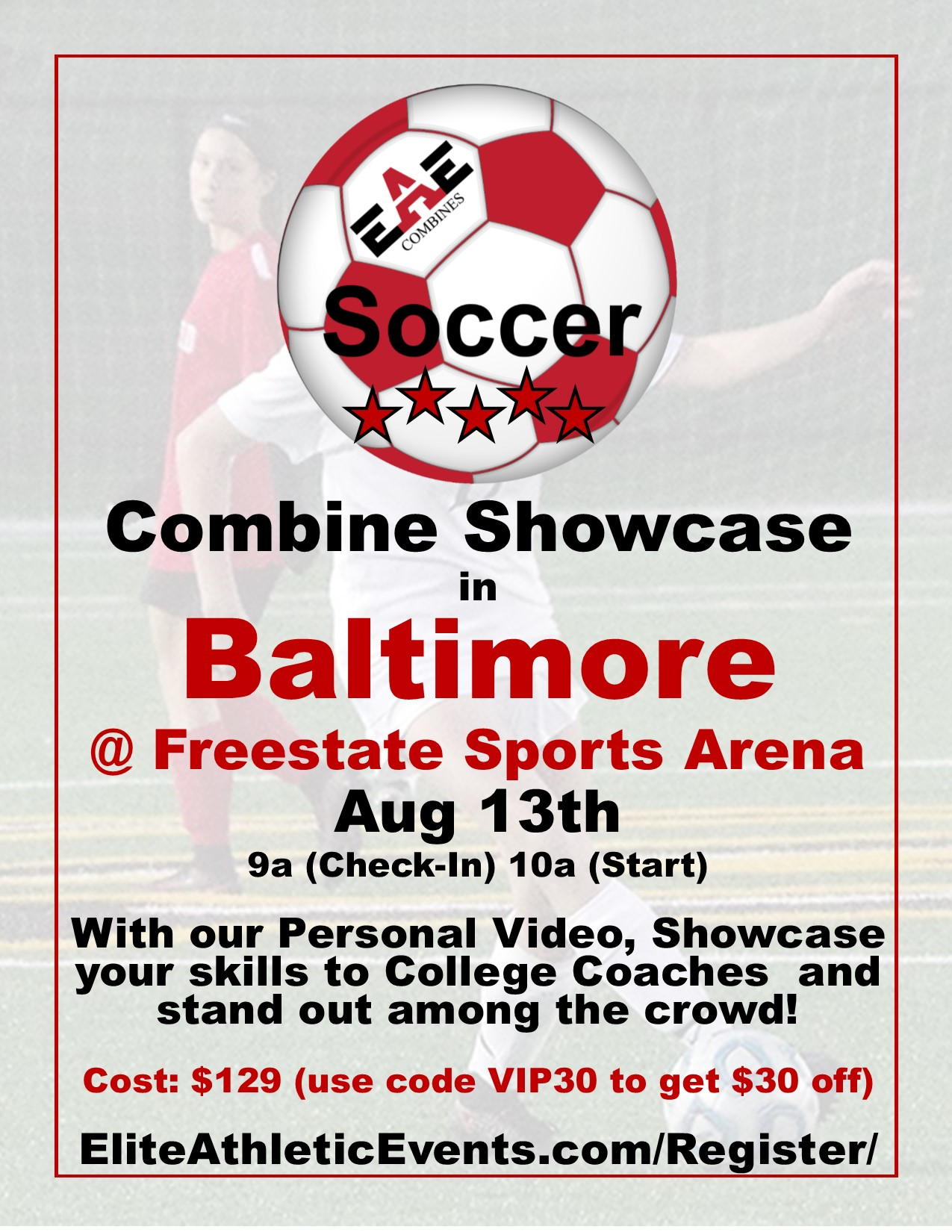 Soccer Combine Baltimore Image